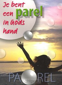 Schrijfblok A6 je bent een parel in Gods