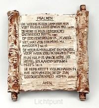 Wandplateau psalmteksten