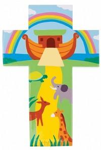 Kruisje hout ark van noach