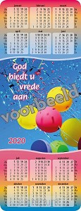 Kalendertje 2020 set 10 (nettoprijs)