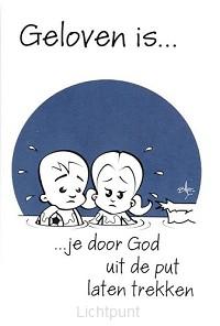 Minikaart geloven is je door God uit de