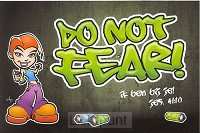 Minikaart grafity do not fear