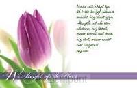 Minikaart wie hoopt op de Heer