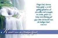 Minikaart kracht van de Heilige Geest