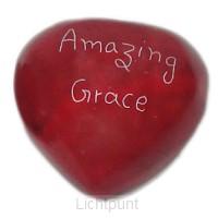 Amazing Grace rood hart blackstone