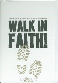 Wk puur walk in faith
