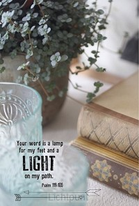 Wk your word is a lamp for my feet