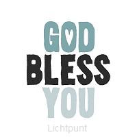 Servetten God bless you