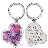 Keyring Heart/Love