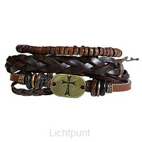 3pc Bracelet set Gold Cross