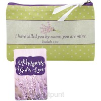 Wristlet & card whispers of Gods love