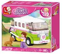 Girls Dream - Kampeerwagen / Minibus 6+