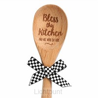 Wooden Spoon Bless this kitchen