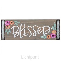 Wall decor blessed 25x9,5cm