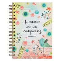 Wirebound journal His mercies