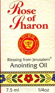 Anointing oil rose of saron 7.5ml
