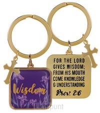Keychain wisdom proverbs 2:6