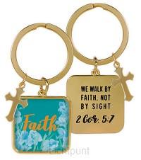 Keychain faith 2 cor 5:17