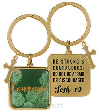 Keychain courage joshua 1:9
