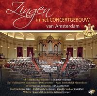Zingen i/h concertgebouw Amsterdam