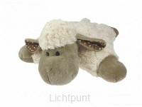 Lamb curly pillow 35cm