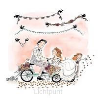 Wenskaart trouwen