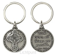 Keyring with God all things