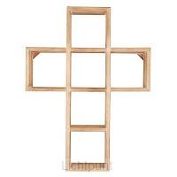 Wall Cross 45,7cm Shelf Style