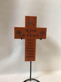 Kruis 20cm le fruit de l'Esprit
