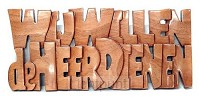 Wandbord 305x135mm wij willen de Heer di