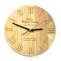 Wall clock trust Gods timing