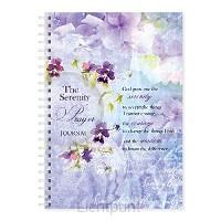 Wire o hard journal serenity prayer