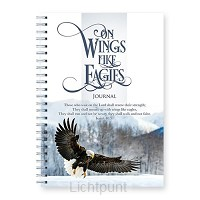 Wire o hard journal on wings like eagles