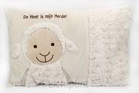Kussen schaap de Heer is mijn Herder