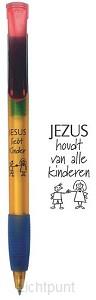 Balpen Jezus houdt van alle kinderen