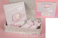 Babydoos roze je bent een parel in Gods