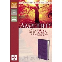 Amplified Bible Comp. Purple/Mett. Duot.