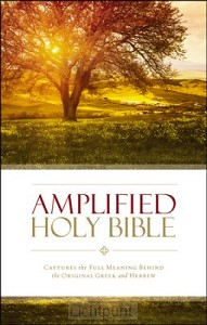 Amplified Bible Colour Paperback