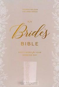 KJV - Bride''s Bible CP, White Lettersof
