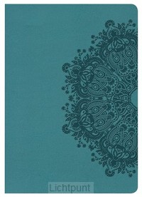 KJV LP compact bible teal imit. leather