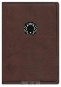 KJV deluxe gift bible brown/tan leathert