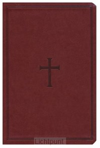 KJV - LP Comp. Ref. Bible, Brown Imit. L
