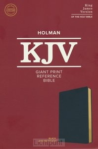 KJV - Giant Print Reference Bible
