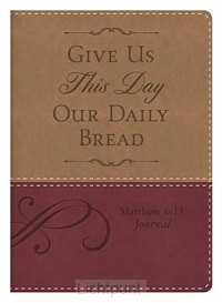 Leather journal daily bread