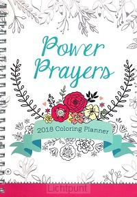 2018 planner prayers colouring