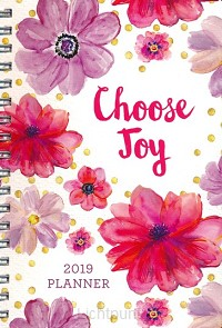 15 month planner 2019 choose you