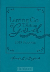 15 month planner 2019 letting go