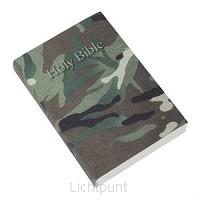 KJVA Pocket Bible Vinyl Camouflage