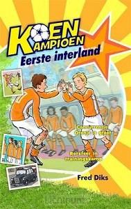 Koen kampioen eerste interland