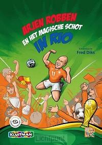 Arjen Robben het magische schot in Rio